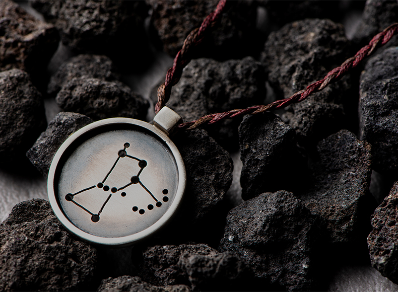 Orion Pendant in Frame jewelry image