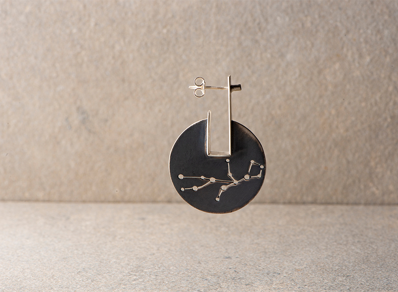 Virgo Earring Mix and Match Earring jewelry image