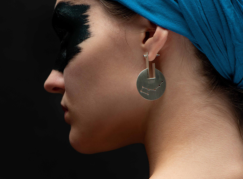 Ursa Major+Ursa Minor Mix and Match Earring jewelry image